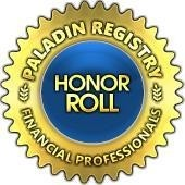 Paladin Registry Honor Roll Advisor