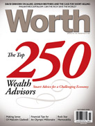 2008 Worth Magazine Top 250 Wealth Managers in America